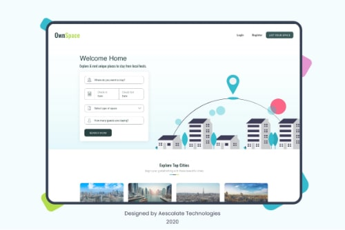 OwnSpace - Designed by Aescalate Technologies